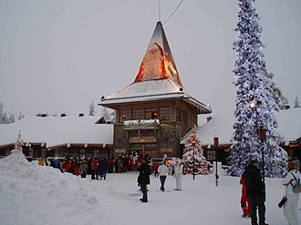 Lapland (Finland) - Image: Rovaniemi pajakyla 2