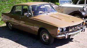 Rover P6 - Rover 2000 TC Mark II