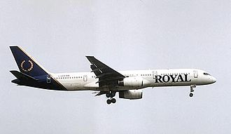 Royal Aviation - Royal Airlines Boeing 757-200 in pre-merger colours