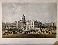 Royal Manchester Infirmary, Manchester, England. Coloured li Wellcome V0013918.jpg
