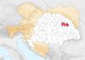 Royaume de Hongrie 1914 Comitat de Szatmár.png