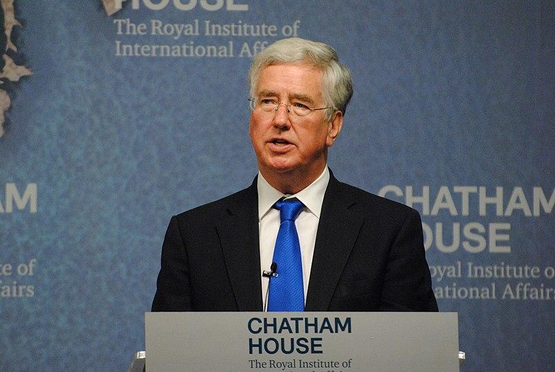 File:Rt Hon Michael Fallon MP, Secretary of State for Defence, UK (19693106946).jpg