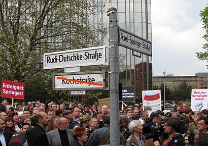 How to get to Rudi-Dutschke-Straße with public transit - About the place