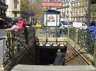 Rue du Bac (Paris Métro) - Image: Rue du Bac 02