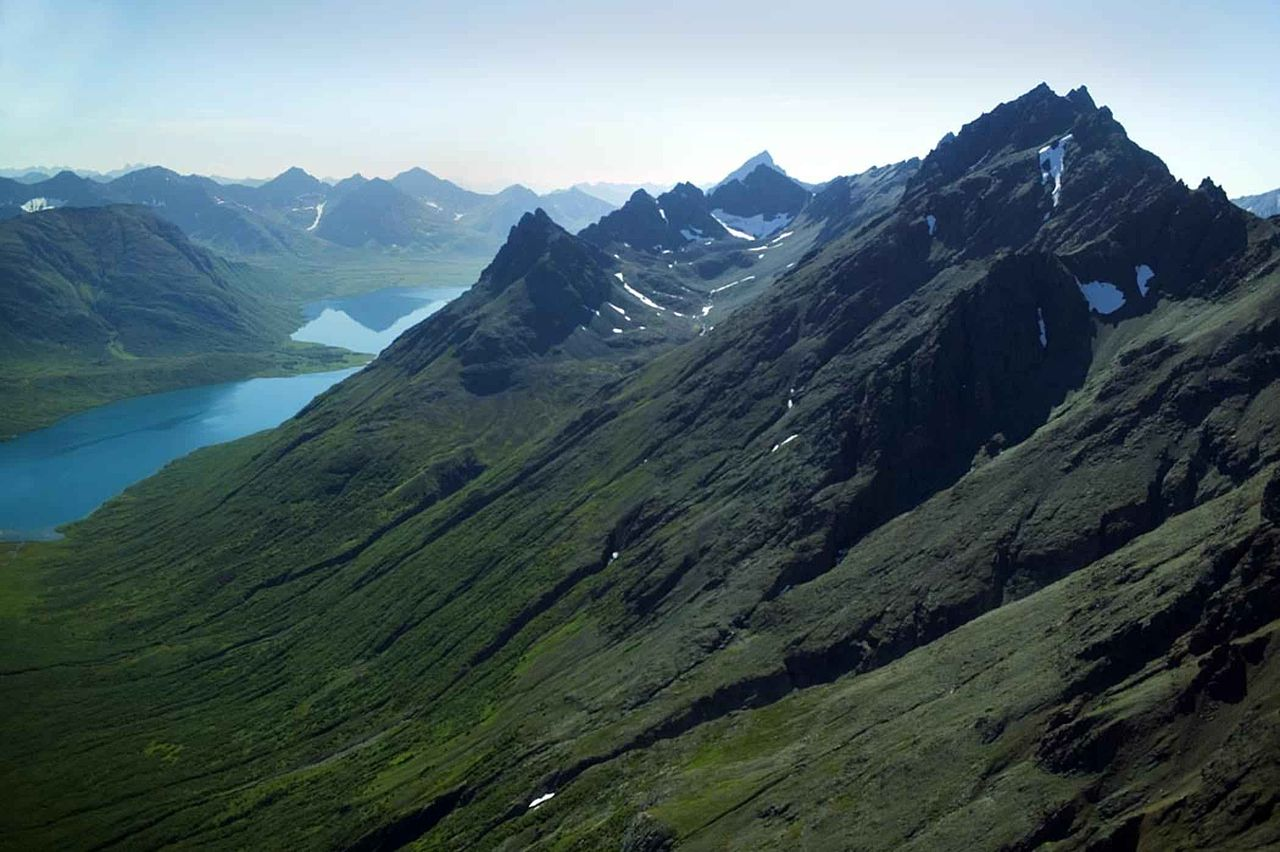 File:Rugged mountain tops.jpg Mountain