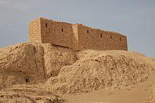Naffur'daki bir tapınaktan kalıntılar.jpg