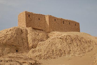 Ruínas de E-Kur, o templo principal de Enlil