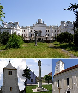 Rusovce - Image: Rusovce collage