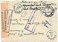 Russia 1916-10-25 censored registered cover reverse.jpg