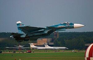 موسوعة طائرات السوخوي - صفحة 2 300px-Russian_Navy_Sukhoi_Su-33