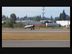 File:Russian Polikarpov I-16 start-up and fly-by at Paine Field USA Sept 2011 with sound - includes mock attack on bi-wing.ogv