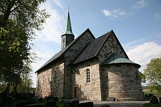 Kirkegrenda - Rygge Church