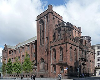 John Rylands Library Research library building on Deansgate in Manchester, England