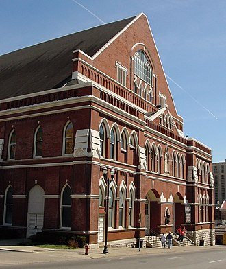 "Grand Ole Opry - Ryman Auditorium, the ""Mother Church of Country Music"""