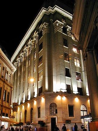 B3 (stock exchange) - Image: São Paulo Stock Exchange Building
