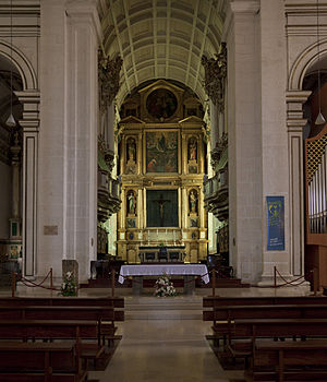 Our Lady of the Immaculate Conception Cathedral, Leiria - Internal view