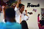 SAC gets karate lesson 161209-F-CJ211-004.jpg