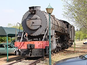 South African Class 15CA 4-8-2 - No. 2802 at Esselen Park, 21 September 2009