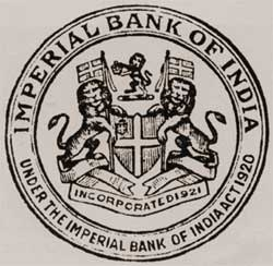 SBI Imperial bank seal