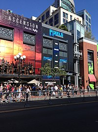 SDCC 2014 - Pixels building wrap (14730655675).jpg