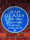 SEAN O'CASEY 1880-1964 Playwright lived here at flat No 49.jpg