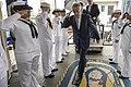 SECDEF Hagel visits USS Vella Gulf 140605-N-KE519-001.jpg