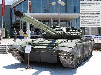 Myanmar Army - Image: SER mod T72