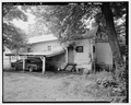 SHOT GUN HOUSE, EXTERIOR SOUTHWEST. - 355 Third Street (House), Thomas, Jefferson County, AL HAER ALA,37-THOS,5-7.tif