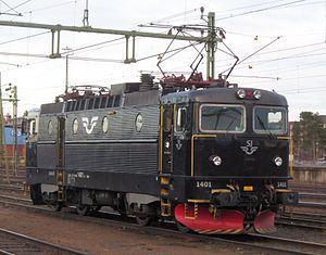 SJ AB - Image: SJ Rc 6 at Luleå C