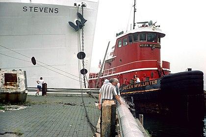 SS Stevens preparing for last voyage view 12 Helen McAllister tug.jpg