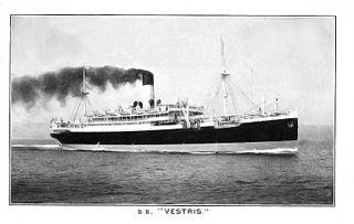 SS <i>Vestris</i> steamship