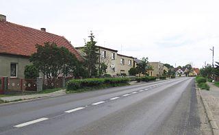 Strykowo Village in Greater Poland, Poland