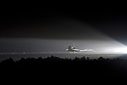 STS-134 Space Shuttle Endeavour makes its final landing