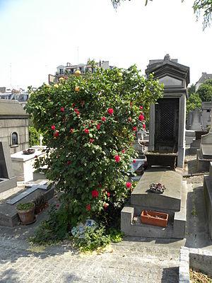 Saint-Vincent Cemetery - Image: SVC Rose