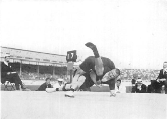Finland at the 1908 Summer Olympics - Weckman and Saarela in the finals