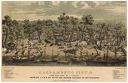 Sacramento in 1849.