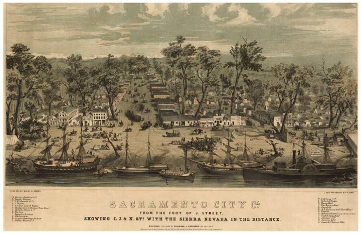 Sacramento california 1849