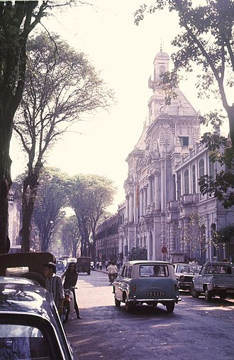 Ho Chi Minh City - Saigon City Hall (1968)