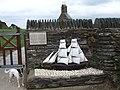 Sailing boat memorial at Cwm yr Eglwys - geograph.org.uk - 240359.jpg