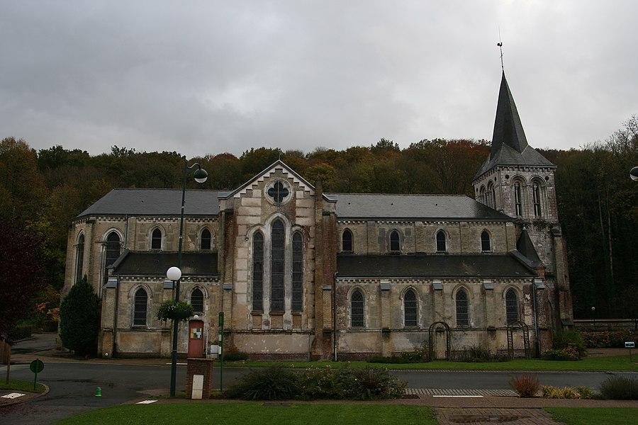 Église Saint-Laurent de Saint-Laurent-de-Brèvedent.
