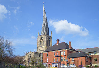 Church of St Mary and All Saints, Chesterfield - Image: Saint mary chesterfield