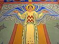 Saint Aloysius Church (Bowling Green, Ohio) - sanctuary mural detail, angel.jpg