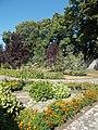 Saint James Visitor Center's garden, 2017 Lébény.jpg