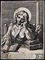 Saint John the Evangelist. Line engraving by W. Faithorne, 1 Wellcome V0032403.jpg