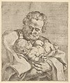 Saint Joseph holding the infant Christ, after Reni MET DP837916.jpg