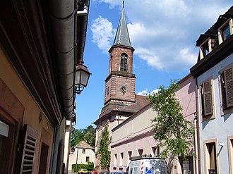 Sainte-Marie-aux-Mines - Church of Saint Louis
