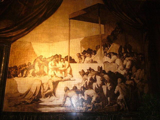 Mural de Josep Maria Sert para el Salón de Crónicas del Ayuntamiento de Barcelona (Wikipedia)