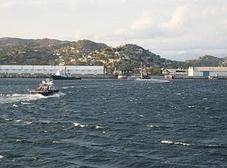 Salina Cruz - Image: Salina Cruz Bay
