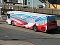 SamTrans Airport Flyer bus at Millbrae station, July 2018.JPG