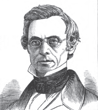 Samuel Finley Vinton - sketch from Historical Collections of Ohio